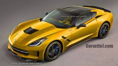 New renderings show what the Corvette-based which could appear as a 2015 or 2016 vehicle, might look like. Photo by Theo Chin/Chris Doane Automotive . Corvette C7 Stingray, 2015 Corvette Z06, Used Car Prices, Little Red Corvette, Sports Sedan, New And Used Cars, Sexy Cars, Rat Rods, Sport Cars