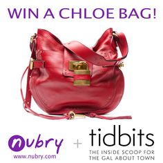 Designer Purses: Win A Red Chloe HandbagFashion and Lifestyle Blog with Beauty Tips, Daily | Nubry