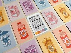 Here's how some of our most creative customers took their Business Cards from perfectly practical to miniature works of art. Art Business Cards, Square Business Cards, Minimalist Business Cards, Creative Business Cards, Spot Illustration, Id Card Design, Posca Art, Graphic Design Branding, Stationery Design