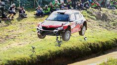 The Big Jump - Hubert Ptaszek - Skoda Fabia R5 - WRC Rally… | Flickr