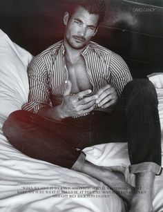 The Making of David Gandy (August Man Malaysia) July 2012
