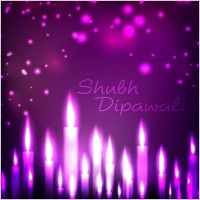 beautifully diwali background 10 vector