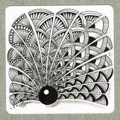 shattuck pattern zentangle - Google Search