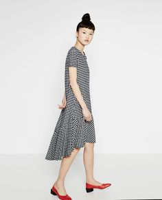Image 1 of GINGHAM DRESS from Zara