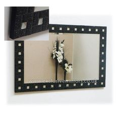 Black Mirror With Stunning Flecks In The Frame