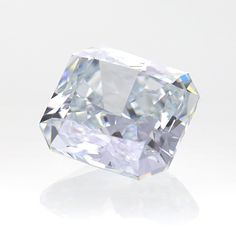 BEAUTIFUL AND RARE NATURAL VERY LIGHT BLUE CUT CORNERED RECTANGULAR MODIFIED BRILLIANT 1.88 CTS. WITH EXCELLENT CUT AND POLISHED, BEST SUITABLE FOR RING CENTRE PIECE. OR CENTRE PIECE IN ANY JEWELLERY WITH GIA CERTIFICATE #1176588460