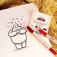Baymax Love by DeeeSkye
