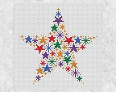 Fairy wand and stars cross sti |