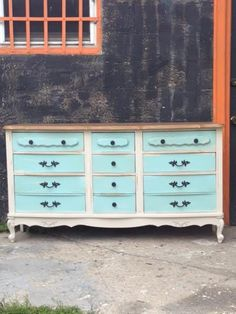 French Provincial Country French Shabby Chic Dresser
