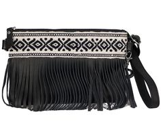 FRINGE!! Cameron Crossbody Bag // Black // Fortress of Inca // Society B - Fair Trade Products and Gifts that Give Back