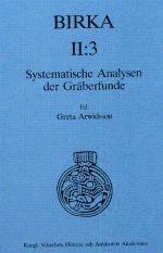 Greta Arwidsson - Birka II-3 scaned copy of the whole book
