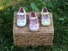 Handmade baby shoes #baby #shoes #girl