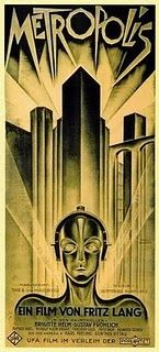 One of my all time favourite vintage images. The Metropolis movie poster.