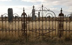 Eastern Oregon cemetery