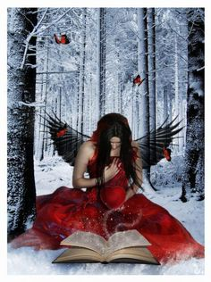 Healing a heart that's cold as ice, black as pitch, and stained red with the guilt of past sins.
