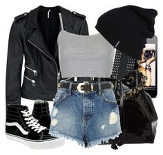 """""""Conjunto #733"""" by laarochaa ❤ liked on Polyvore featuring Mode, IRO, Vans, Chanel, River Island und Topshop"""