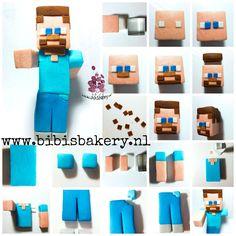 Here is Steve, from Minecraft. xxx Bibi  #bibisbakery https://www.facebook.com/bibisbakery.nl