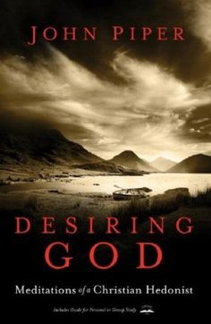 "Desiring God -  Meditations of a Christian Hedonist // ""The overriding concern of this book is that in all of life God be glorified the way He Himself has appointed. To that end this book aims to persuade you that the chief end of man is to glorify God by enjoying Him forever"" (p. 18). //  http://www.desiringgod.org/books/desiring-god"