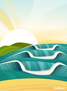 Surf Wave Swell