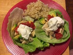 First Time Mom and Losing It: Healthy Chicken Lettuce Tacos Recipe - Dr. Oz Rapid Weight-Loss Friendly