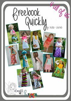 Freebook Kleid Quickly von Nemada Gr. 74-140