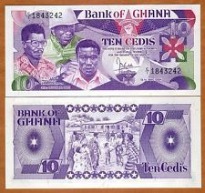 This is a picture of the currency used in Ghana, called Cedis.