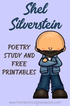 This Shel Silverstein Poetry Study (plus FREE printables and Poetry Analysis Pack) can help you bring his poetry to life for you kids. Poetry Prompts, Poetry Lessons, Reading Lessons, Poetry Unit, Writing Poetry, Poetry Books, 2nd Grade Ela, 4th Grade Reading, Third Grade