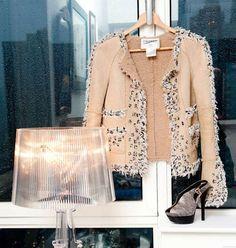 Yes, please,  Chanel jacket.  Fendi shoes.