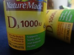 Nature Made Vitamins D3 1000IU Value Size Vitamin D Supplement 600 Tablets 031604018702 | eBay