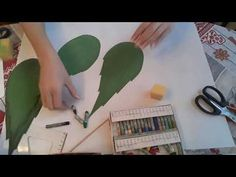 Алина Шкабарина - YouTube Paper Flowers Diy, Flower Crafts, Flower Video, Cardboard Crafts, Party, Draw, Youtube, Hair, Design