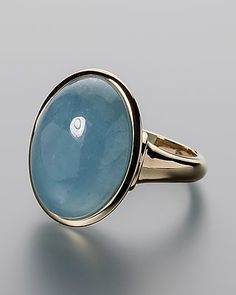Goldring mit Milky Aquamarin #schmuck #jewellery #sognidoro #sogni #d´oro #ring
