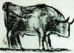 El toro, lámina 1 (Picasso)