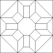 PROSPERITY - Antique Geometric Quilt Designs