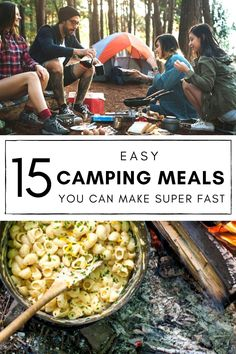 Camping Meal Planning, Best Camping Meals, Backpacking Food, Camping Recipes, Camping Cooking, Camping Dinner Ideas, Easy Camping Food, Camping Menu, Hiking Food