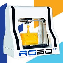 Deal of the Day: Save on ROBO 3D R1 Plus 3D Printer for 10/05/2016 only!   $599.99 & FREE Shipping.    R1 Plus 3D Printer By Robo 3D. Fully Assembled And Calibrated. 100 Micron Quality. 720 Cubic Inches Of Build Space. All Metal Hot End. Prints With A Wide Range Of Materials. Features.   Fabricates parts up to 8 x 9 x 10 inches (H x W x D) in size or 720 cubic inches in volume Prints layers up to a maximum resolution of 100 microns Fabricates parts using 1.75-mm ABS, >>>>>>>>>>