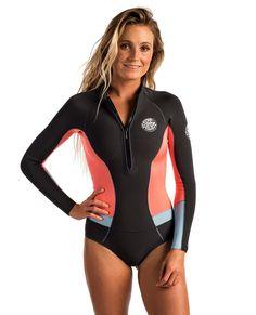G Bomb Long Sleeve Spring Hi Cut Wetsuit Womens Spring Suit Wetsuits  Springsuits Rip Curl d28cfecf5
