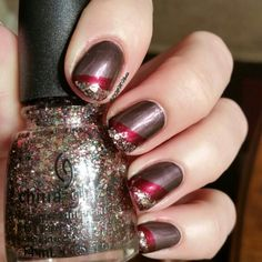 China Glaze Twinkle Collection -Bottle shot of Dancing and Prancing