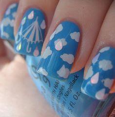 Rainy Day Nails