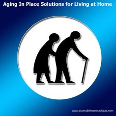 Aging Iin Place Solutions for Living at Home as You Age - Aging In Place Accessible Home Tips - How to Stay at Home While Aging In Place #aginginplace Learn more about how to age gracefully at home while aging in place with proper accessible home planning...