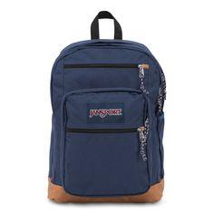 JanSport Cool Student Navy Bookbag Backpack Laptop for sale online Mochila Jansport, Jansport Backpack, Luggage Backpack, Laptop Backpack, Laptop Bags, Travel Backpack, Stylish Backpacks, Leather Backpacks, Leather Bags