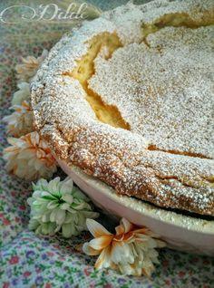 fatela riposare al fresco una mezz'ora Ricotta Cheese Pizza, Latte, Cannoli, Pie Dessert, Easter Recipes, Coco, Italian Recipes, Cake Recipes, Cooking Recipes