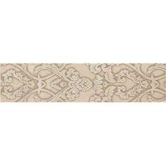 Decorative Accent Ceramic Wall Tile Extraordinary Daltile Fashion Accents Illusion 2 Inx 10 Intaupe Ceramic Decorating Design