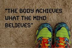 True about many things . . . Running farther and faster is one of them.