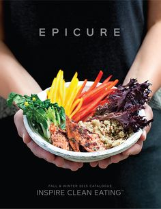 """Cover of """"Epicure Fall Winter 2015 Catalogue"""" Fast Healthy Meals, Healthy Recipes, Clean Recipes, Healthy Cooking, Fast Dinner Recipes, Fast Dinners, Lunch Recipes, Epicure Recipes, Mug Recipes"""