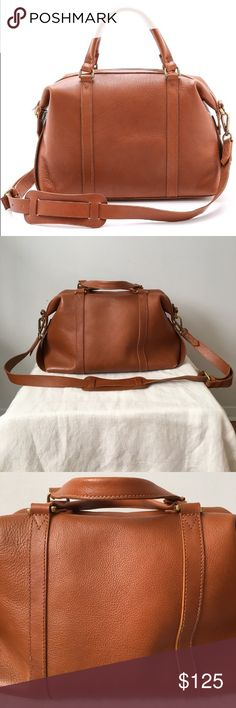 32291cc0e856 Flash Sale ♡ More pictures  ) Madewell Bags. Madewell Glasgow English  Saddle Satchel Large Good to very good preloved condition. Wear on the