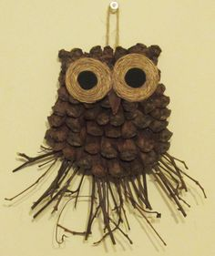 DIY Owl Decoration - A Gift Idea. This is a step by step tutorial on how to make these cute owls. http://youtu.be/33gBXgCoJr0