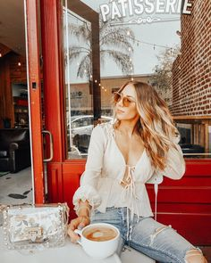 "a9b6d3c02a K E L S E Y on Instagram  ""Fact  I ve never been known to turn down a  coffee date ☕ • • •  denimaddicted  summerfits  summerstyle  pistola   coffeedate ..."