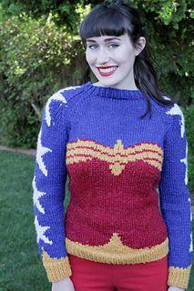 Wonder Woman by Natalie Bursztyn, free pattern on Ravelry