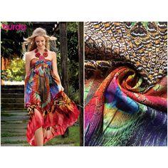 Kleiderstoff Burda Baumwoll-Seidenbatist gemustert Chf, Strapless Dress, Shoulder Dress, Dresses, Fashion, Silk, Scale Model, Strapless Gown, Vestidos