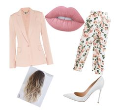 """working in pink"" by azziahcobbfreeman on Polyvore featuring beauty, STELLA McCARTNEY, ASOS, Gianvito Rossi and Lime Crime"